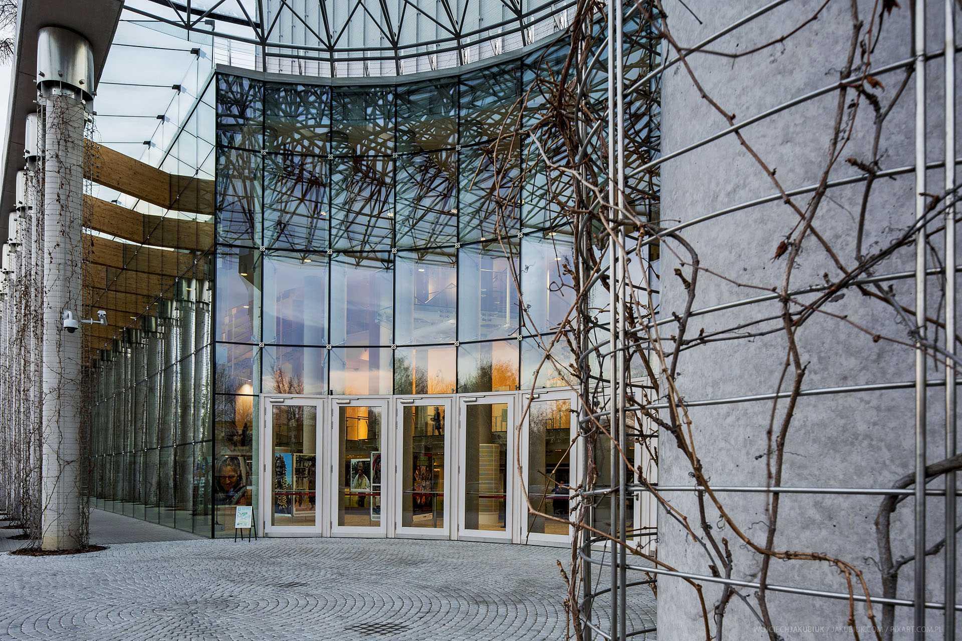 Podlasie Opera and Philharmonic - European Art Centre in Bialystok, Poland.